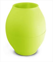 Plast váza Diabolo 150mm/176mm zelená - velkoobchod, dovoz květin, řezané květiny Brno