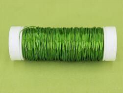 Drát Premium deco 30g apple green - velkoobchod, dovoz květin, řezané květiny Brno