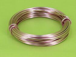 Drát Aluminium 2mm/12m (100g) light pink - velkoobchod, dovoz květin, řezané květiny Brno