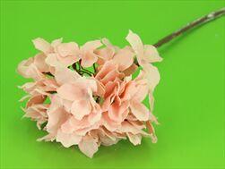 Uk hydrangea led 49cm růžová - velkoobchod, dovoz květin, řezané květiny Brno