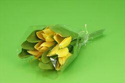 Uk tulipán X7/28cm žlutý - velkoobchod, dovoz květin, řezané květiny Brno