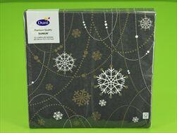DO UBROUSKY DNL 40X40 Snow Necklace black - velkoobchod, dovoz květin, řezané květiny Brno