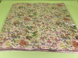 Ob papír arch 0,7x1m/25ks přírodní s květy - velkoobchod, dovoz květin, řezané květiny Brno