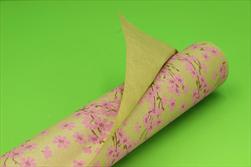 Ob papír kraft Primavera 0,7x50m cyclamen - velkoobchod, dovoz květin, řezané květiny Brno