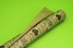 OB papír kraft role 0,8x40m Antique bordeaux - velkoobchod, dovoz květin, řezané květiny Brno