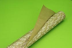 OB papír kraft role 0,8x40m Vivaldi white - velkoobchod, dovoz květin, řezané květiny Brno