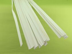 Woods chips 130cm/250g white soft - velkoobchod, dovoz květin, řezané květiny Brno