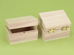 Dv krabička 7,5x5,5x4,5cm natural - velkoobchod, dovoz květin, řezané květiny Brno