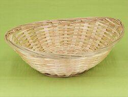 Miska bambus ovál 28x20,V7,5cm - velkoobchod, dovoz květin, řezané květiny Brno
