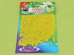 Perly gelové substrát 10g/700ml/1cm žlutá - velkoobchod, dovoz květin, řezané květiny Brno