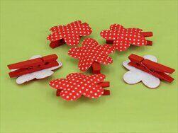 Květinky kolíček S/6 červená - velkoobchod, dovoz květin, řezané květiny Brno
