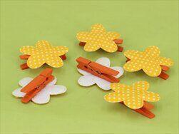 Květinky kolíček S/6 oranžová - velkoobchod, dovoz květin, řezané květiny Brno