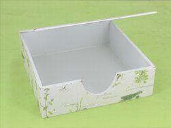 Krabička bylinky dřevo - velkoobchod, dovoz květin, řezané květiny Brno