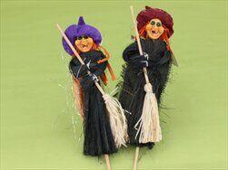 Čarodějnice zápich textil mix - velkoobchod, dovoz květin, řezané květiny Brno