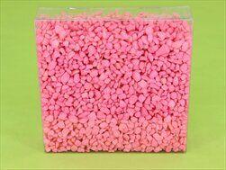 Drť 4-6mm/700g růžová - velkoobchod, dovoz květin, řezané květiny Brno