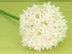 Česnek umělý V90cm bílá - velkoobchod, dovoz květin, řezané květiny Brno