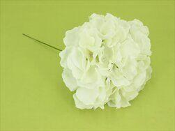 Hortenzie zápich umělá bílá - velkoobchod, dovoz květin, řezané květiny Brno