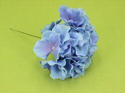 Hortenzie zápich umělá modrá - velkoobchod, dovoz květin, řezané květiny Brno