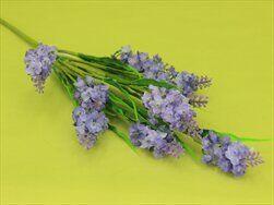 Trs levandule umělá fialová - velkoobchod, dovoz květin, řezané květiny Brno