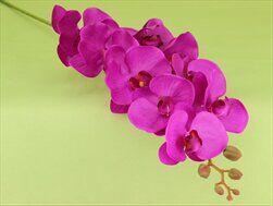 Orchidej umělá 105cm fialová - velkoobchod, dovoz květin, řezané květiny Brno