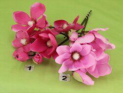 Magnolie umělá V45cm růžová - velkoobchod, dovoz květin, řezané květiny Brno