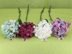 Hortenzie umělá 51cm - velkoobchod, dovoz květin, řezané květiny Brno
