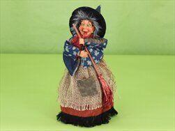 Čarodějnice textil blikající, hrající 25cm - velkoobchod, dovoz květin, řezané květiny Brno