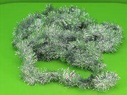 Řetěz vánoce 7cm/6m stříbrná - velkoobchod, dovoz květin, řezané květiny Brno