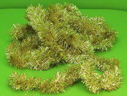 Řetěz vánoce 7cm/6m zlatá - velkoobchod, dovoz květin, řezané květiny Brno