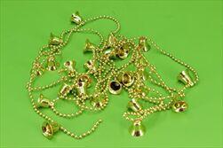 Zvonek řetěz pvc 2cm/2,7m zlatá - velkoobchod, dovoz květin, řezané květiny Brno