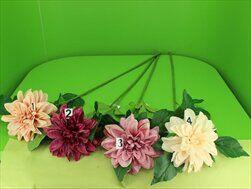 Jiřina umělá 95cm mix - velkoobchod, dovoz květin, řezané květiny Brno