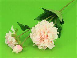Cínie umělá x3/63cm sv.růžová - velkoobchod, dovoz květin, řezané květiny Brno