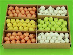 Vajíčka aranž pvc 216/2cm mix barev - velkoobchod, dovoz květin, řezané květiny Brno