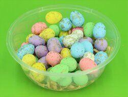 Vajíčka polystyren 50ks/2,5cm mix barev - velkoobchod, dovoz květin, řezané květiny Brno
