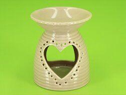 Aromalampa porcelán 11,6cm latté - velkoobchod, dovoz květin, řezané květiny Brno
