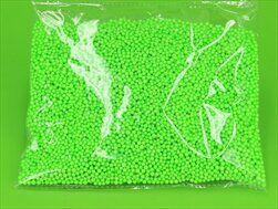 Perličky polystyrén pr.0,4cm/10g zelená - velkoobchod, dovoz květin, řezané květiny Brno