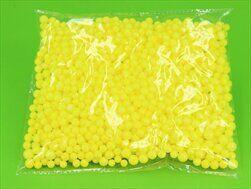 Perličky polystyrén pr.0,7cm/8g žlutá - velkoobchod, dovoz květin, řezané květiny Brno