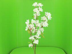 Jabloň větev umělá 108cm bílá - velkoobchod, dovoz květin, řezané květiny Brno