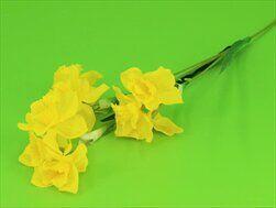 Narcis umělý 68cm žlutá - velkoobchod, dovoz květin, řezané květiny Brno