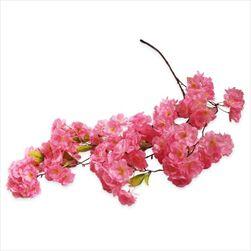 Třešeň větev převis umělý 30xkvět/145cm růžová - velkoobchod, dovoz květin, řezané květiny Brno