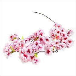 Třešeň větev převis umělý 30xkvět/145cm fialová/růžová - velkoobchod, dovoz květin, řezané květiny Brno