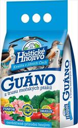 HNO Hoštické hnojivo - Guáno granulované 2,5kg - velkoobchod, dovoz květin, řezané květiny Brno