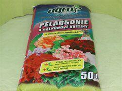 ZEM AGRO PELARGONIE 50L - velkoobchod, dovoz květin, řezané květiny Brno