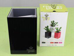 Plast obal Cubi 9x9x13,5 černý - velkoobchod, dovoz květin, řezané květiny Brno