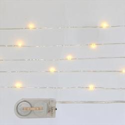 LED světla řetěz 20ks teplá bílá - velkoobchod, dovoz květin, řezané květiny Brno