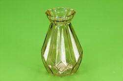 Sklo váza Rocco Diamond pr.10/15cm hnědá - velkoobchod, dovoz květin, řezané květiny Brno