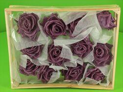 Vosková Růže Lilková 10cm - velkoobchod, dovoz květin, řezané květiny Brno