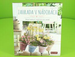 Tisk Kniha Zahrada v nádobách - velkoobchod, dovoz květin, řezané květiny Brno