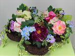 Uk hnízdo s květy 30cm - velkoobchod, dovoz květin, řezané květiny Brno