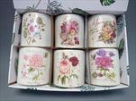 Obal s květinovým motivem mix - velkoobchod, dovoz květin, řezané květiny Brno